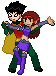 Young Couple Robin X Starfire by Ggb81