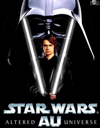 Anakin Skywalker - Star Wars Altered Universe by OllieRamone