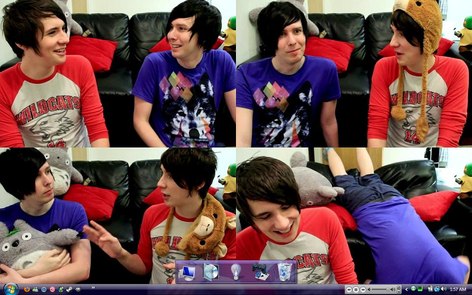 Phil And Dan Desktop By Merenwenruby On Deviantart