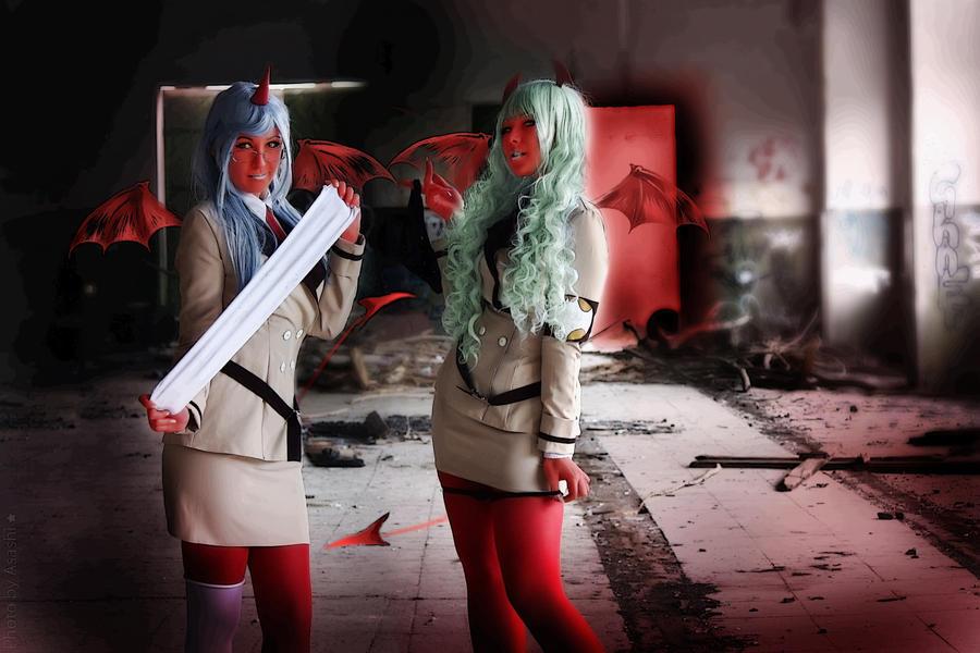 Demon sisters by arienai-ten