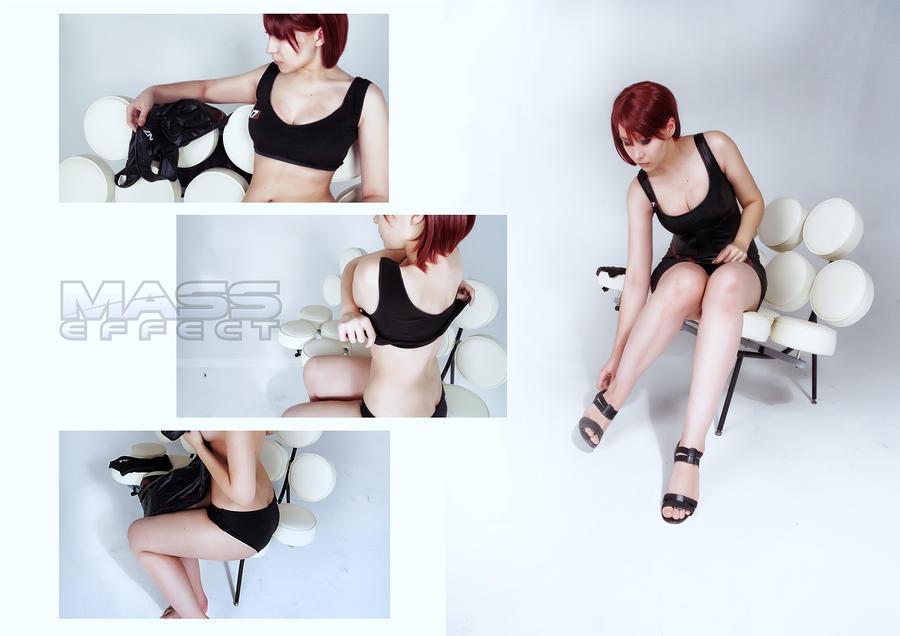 Shepard dresses by arienai-ten