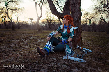 Horizon Zero Dawn - Aloy by arienai-ten