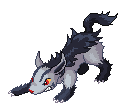 Drago's Mass Produced Sprite Factory and Signature Shop - Page 3 Mightyena_Sprite_by_Buckberry