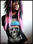 Girl Zomby Vengenz Shirt