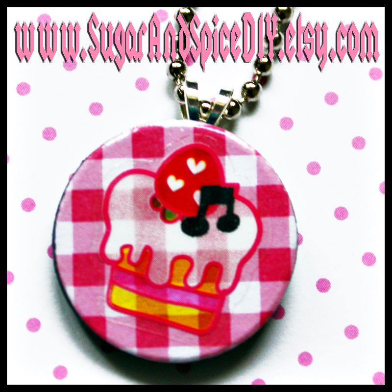 Strawberry Shortcake Charm by SugarAndSpiceDIY