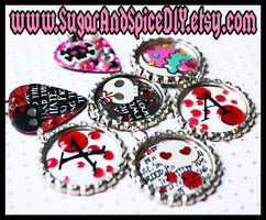 Bottle Caps and Guitar Picks by wickedland