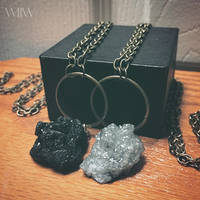WOLF CRAFT Grave Stone Necklaces