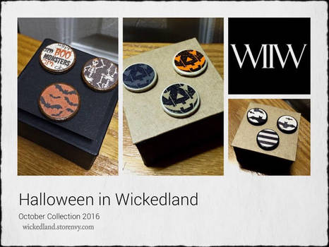 Halloween In Wickedland October Collection