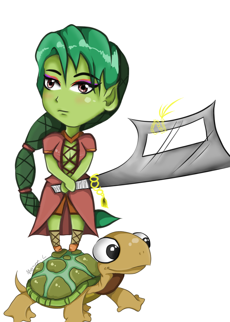 Turtle Power by 898LeeLee898