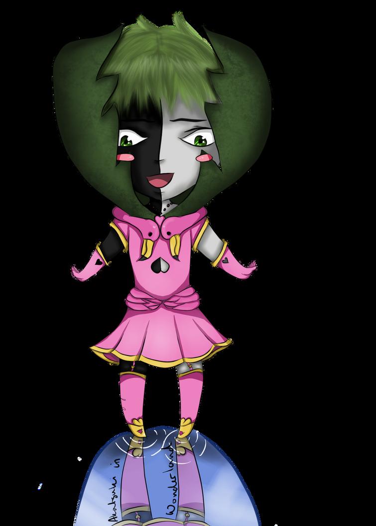Akatsuki in Wonderland - Zetsu by 898LeeLee898