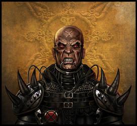 Killer Priest by WayneParker