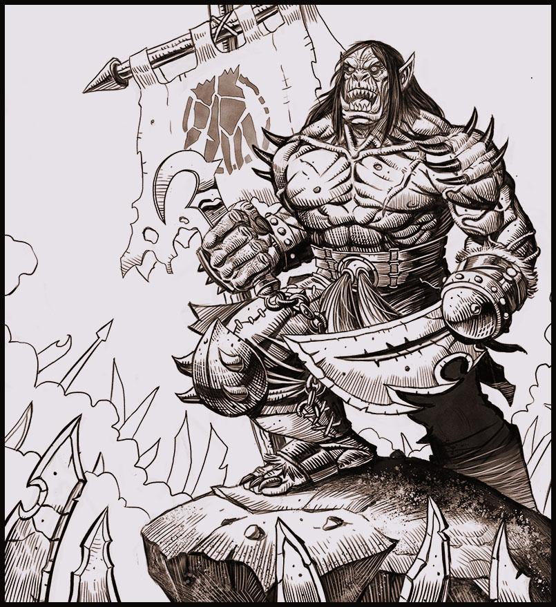 Kargath Bladefist by WayneParker