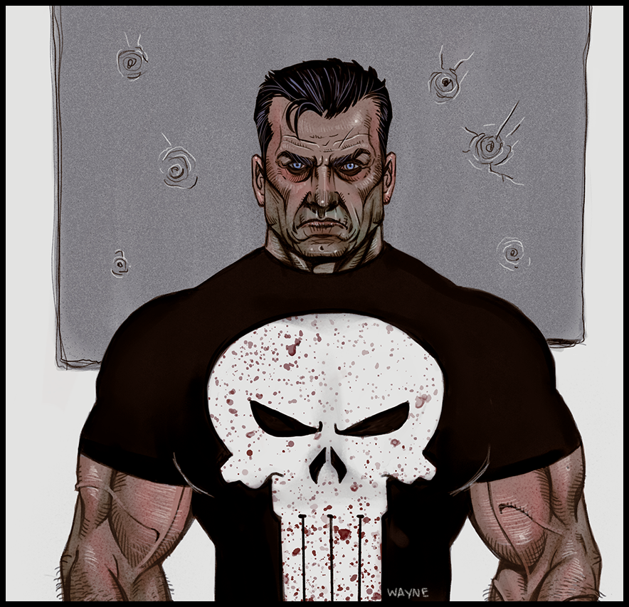 The Punisher by WayneParker