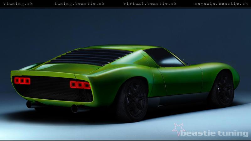 Lamborghini Miura By Beastieracing On Deviantart