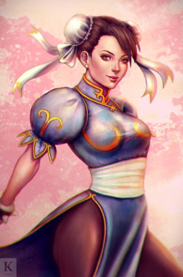 Chun Li by KenryChu