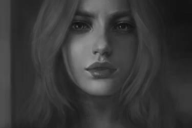 Photo study of Erica by KenryChu