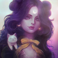 Luna (Request) by KenryChu