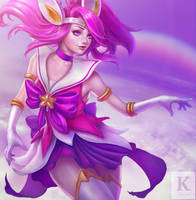 League Of Legends - SG Lux by KenryChu