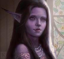Iaai of the Shadowtooh (Commission) by KenryChu