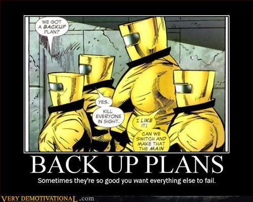 Back up plan by SoRah42
