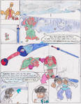 Maze Mountains # : Smol Peach pg 4 by ToddNTheShiningSword