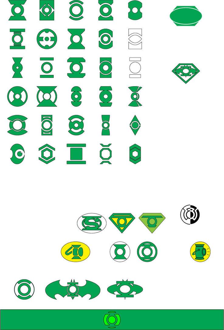 Lantern Symbols by TheDoLittle