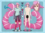 Candycane tailmouth boy AUCTION [Closed] + EXTRA by Izanii1