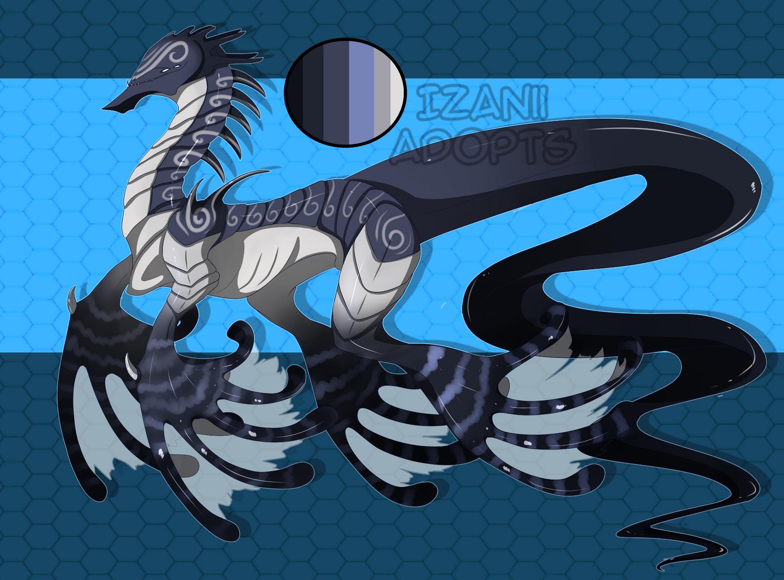 Sea Dragon Adopt AUCTION [Closed] by Izanii1