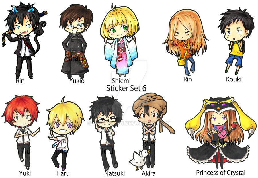 Sticker Set 6 by Skuldchan