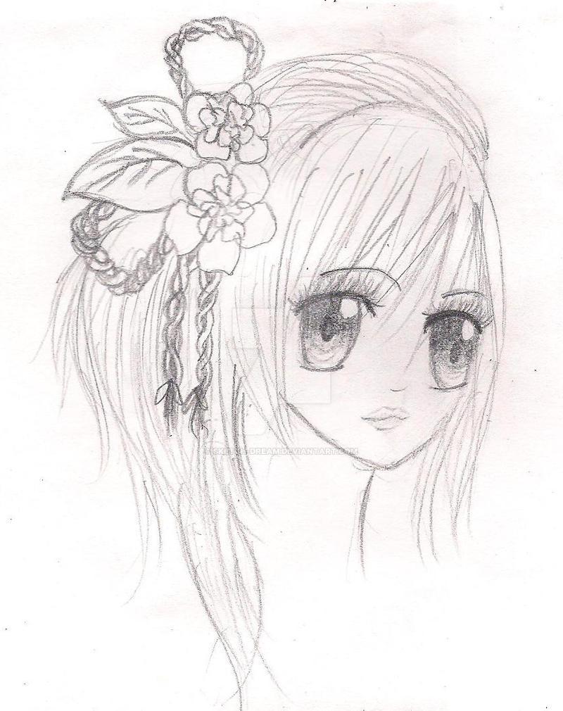 manga girl hairstyle by sketchdream on deviantart