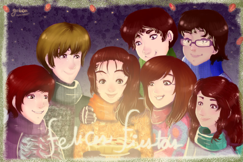 Happy Holidays by GabbaAlche