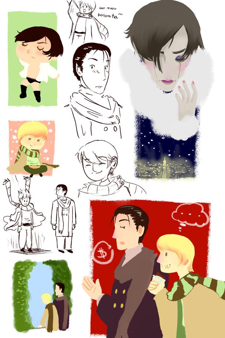 Random Scketches by GabbaAlche