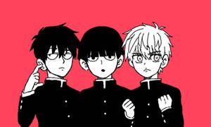 Middle Schoolers | Saitama Mob Genos