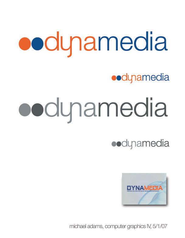 DynaMedia logo by CrashAdams