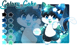 Custom Strudel Galaxy Cake