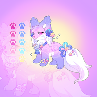 (SOLD) Bell Star Kitsunet Adoptable Auction!
