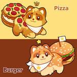 (OPEN!) Fast food Racaron Adopts! by Miizue