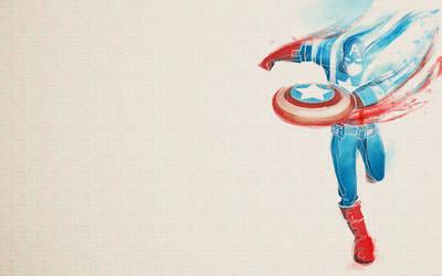 Captain America - Wallpaper