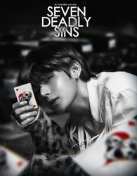 Taehyung / BTS / [Design for the group] by Blackironcat
