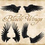 Premium Black Wings