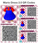 Mario Dress 2.0 QR Codes