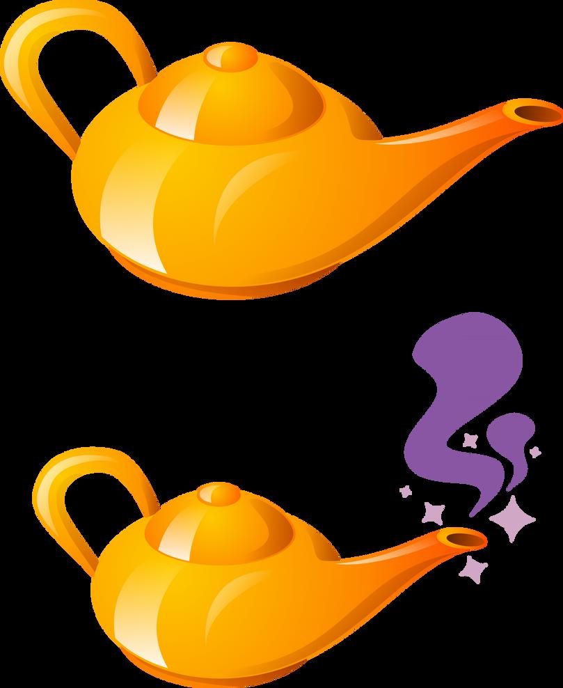 how to draw aladdin magic lamp