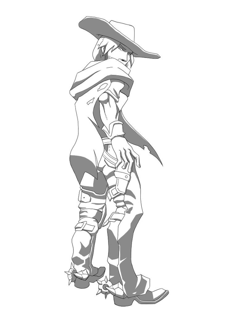 Mccree by MangaMaster2