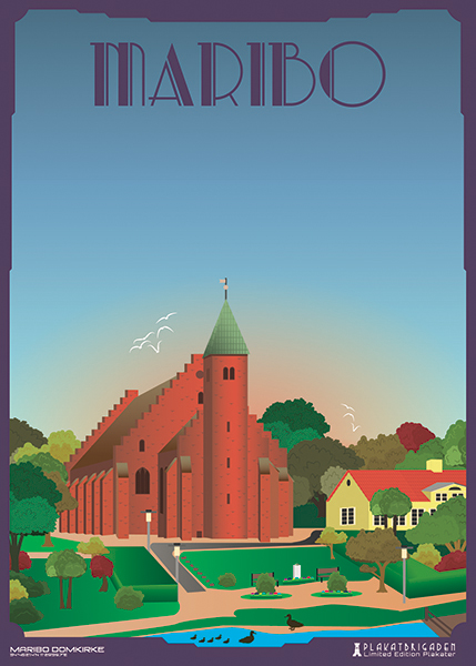 Maribo-Domkirke by PlakatBrigaden