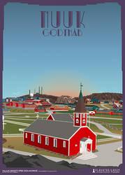 Nuuk-Domkirke by PlakatBrigaden