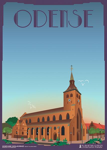 Odense-Domkirke by PlakatBrigaden