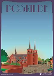Roskilde-Domkirke by PlakatBrigaden