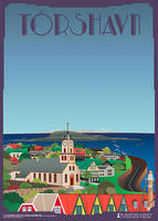 Thorshavn-Domkirke by PlakatBrigaden