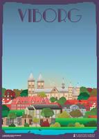 Viborg-Domkirke by PlakatBrigaden