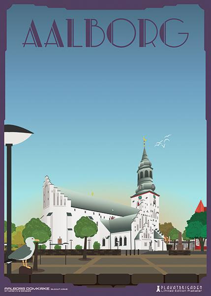Aalborg-Domkirke by PlakatBrigaden